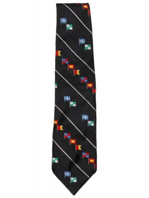 Polo by Ralph Lauren flag design silk tie