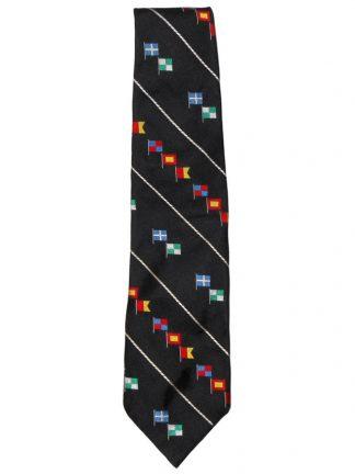 Polo by Ralph Lauren flag design silk tie