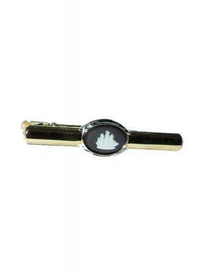 Wedgwood ship design jasperware tie clip