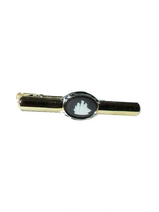 Wedgwood ship design jasperware tie clip