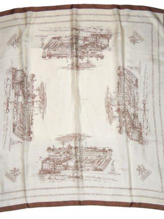 Fuller's Griffin brewery silk scarf
