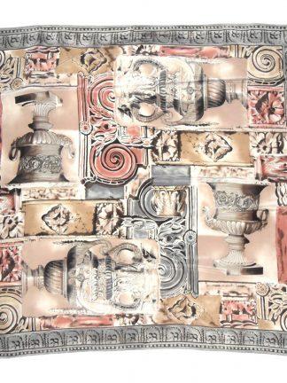 Liz Claiborne scarf with a design of urns
