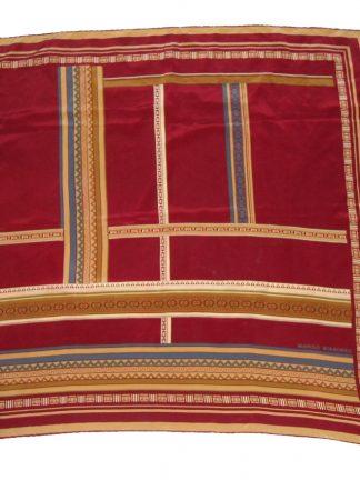 Manolo Borromeo silk scarf