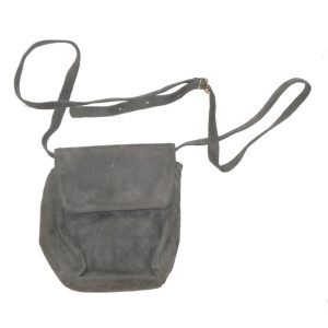 Bellesco grey suede shoulder bag