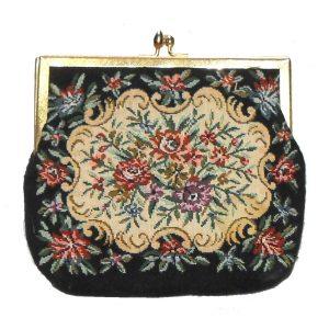 Tapestry evening bag