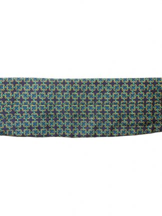 Vintage patterned silk cummerbund
