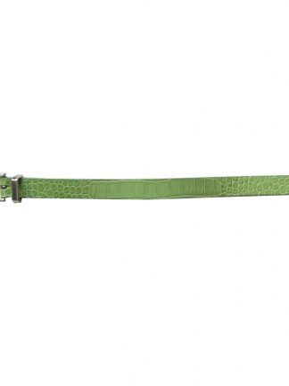 Vintage Jacob light green leather belt