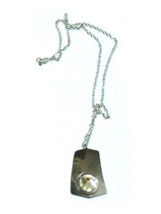 Stainless steel pendant and chain