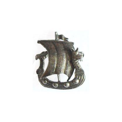 Viking ship brooch